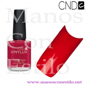 VINYLUX ROUGE RED