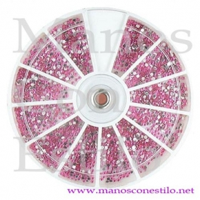 CARRUSEL STRASS ROSA