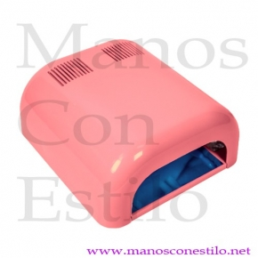 LÁMPARA UV 36W ROSA